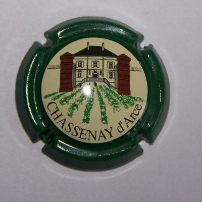 Chassenay d acre contour vert