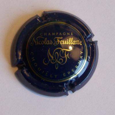 Feuillatte nicolas bleu or