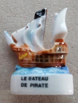 Feve bateau de pirate