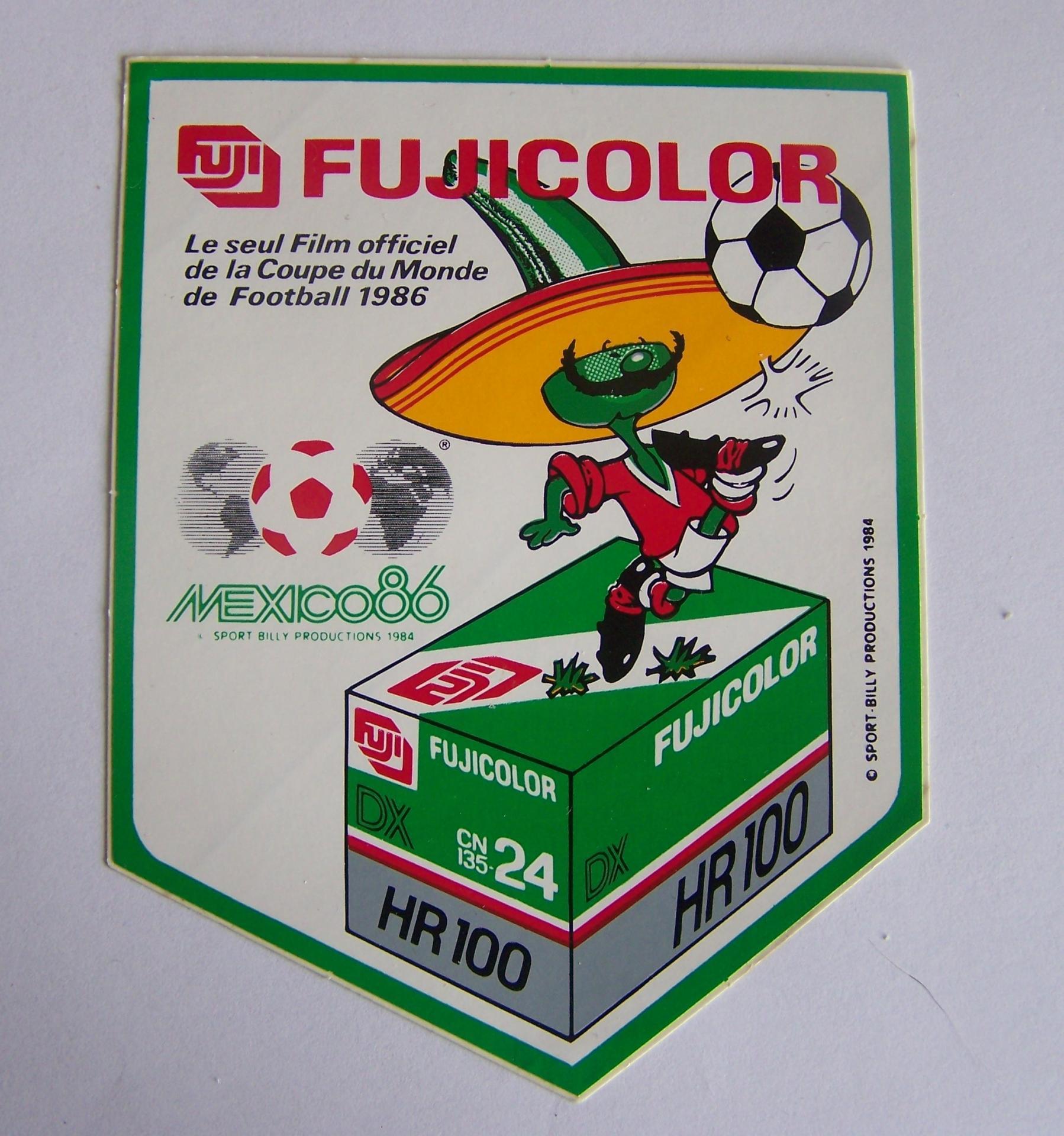 Fujicolor mexico 86