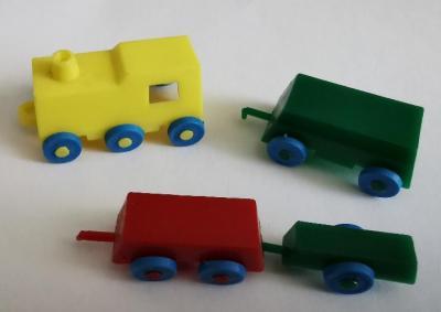 Kinder train et wagons 1979