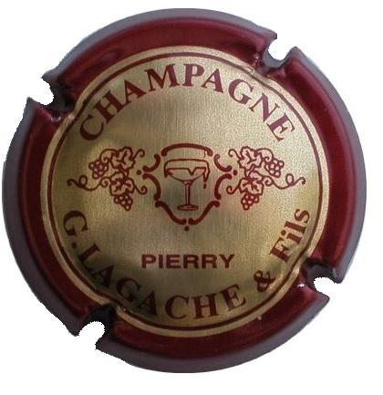 CAPSULE DE CHAMPAGNE LAGACHE