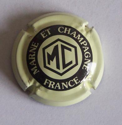 Marne et champagne creme clair