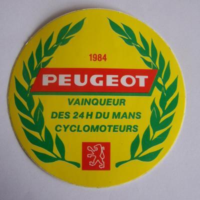 Peugeot cyclomoteur 84