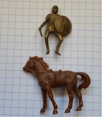 Romain a cheval