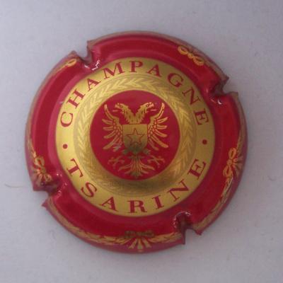 Tsarine rouge et or